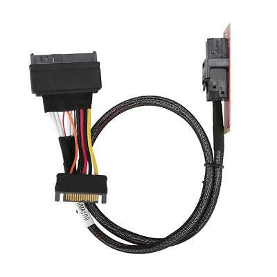 M2 NGFF NVME PCIe to U2 Kit SFF-8639 SSD Adapter Cable For Mainboard & Intel