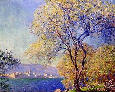 USA - DIY Paint by Number Kit Acrylic Painting Home Decor - Antibes Claude Monet