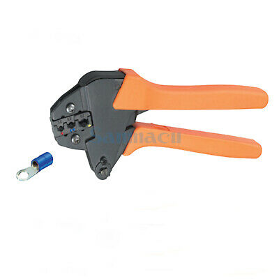 17-10AWG 1.0-1.5,1.5-2.5,4.0-6.0mm² Insulated Terminals Ratchet Crimping Plier