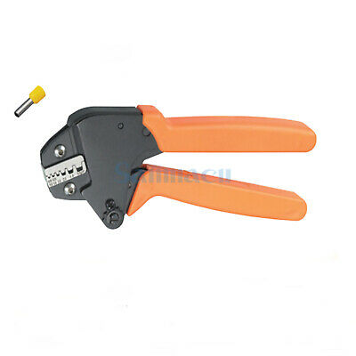 23-10AWG 0.25-0.6/4.0/6.0mm² Insulated and non-insulated Ferrules Crimping Plier