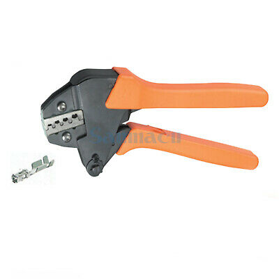 20-13AWG 1.0/2.5mm² Non-insulated Tabs and Receptacles Ratchet Crimping Plier