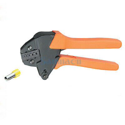 23-7AWG 0.5/10mm² Insulated and Non-insulated Ferrules Ratchet Crimping Plie