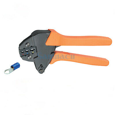 17-10AWG 1.0-1.5,1.1-2.5,2.6-6.0mm² Insulated Terminals Ratchet Crimping Plier