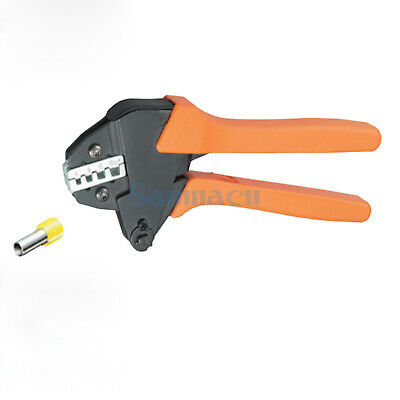 11-5AWG 4,6,10,16mm² Insulated and Non-insulated Ferrules Ratchet Crimping Plier