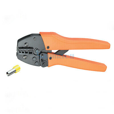 10-3AWG 6,10,16,25mm² Insulated and Non-insulated Ferrules Crimping Plier