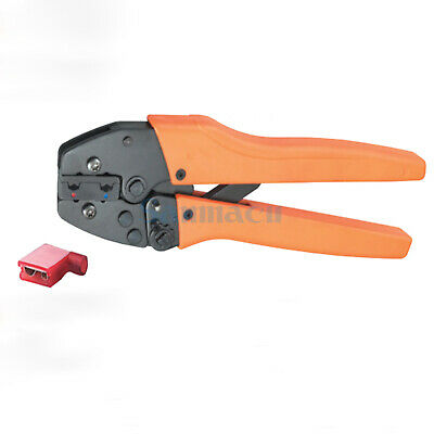 15-13AWG 1.5-2.5mm² Flag Female Receptacles Insulated Terminals Crimping Plier