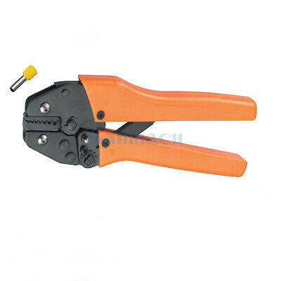 23-10AWG 0.25-6.0mm² Insulated and non-insulated Ferrules Ratchet Crimping Plier