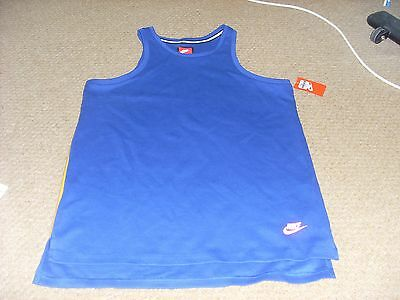 Nike Hybrid Swoosh Mens Vest Top Red//Grey Sleeveless  S M L XL