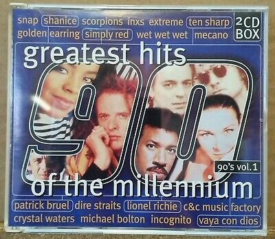 CD : Greatest Hits Of The Millennium 90's Vol.1 (2cd box)