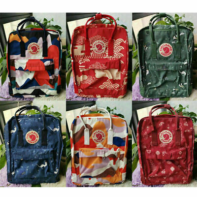 Fjallraven Kanken Fashion Printed School Backpacks Bags Casual Travel Sport Bags