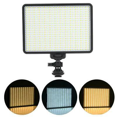 VBESTLIFE PAD500 2820Lm LED Video Light Lamp Photo Studio Lighting for Camera DH