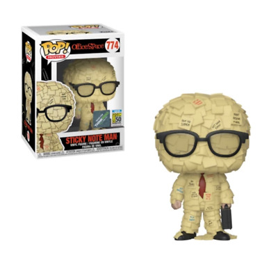 Funko Pop Sticky Note Man #774 Office Space SDCC Exclusive Brand New