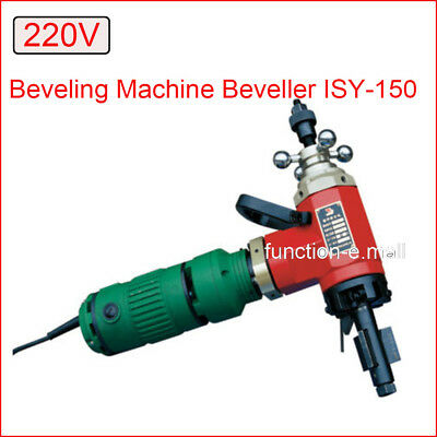 Newest 220V ISY-150 Electric Pipe Tube Beveling Machine Beveller Machine