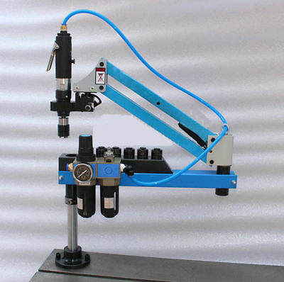 Universal Flexible Arm Pneumatic Air Tapping Machine 360° Tapping W/ M3-M12