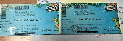 2 Kendal Calling weekend Tickets Plus Camping, Parking and phone charging
