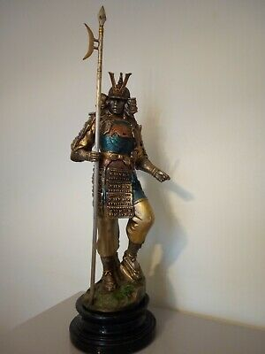 Japanese Statue Warrior,very colourful with small detals