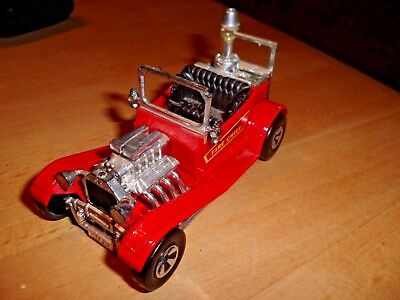 "MATCHBOX Speedkings K50-53 Rod-Hot "" Fire Chief "" Lesney England  1974"
