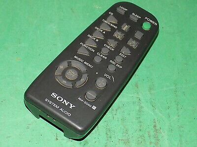 SONY System Audio Remote Controller Control Unit Official Genuine RM-SD50