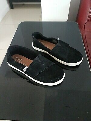 Girls toms shoes size UK 11.5