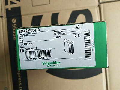 Bmxamo0410  Schneider  Modicon 140 Series Plc Module . New In Box . 1Pcs