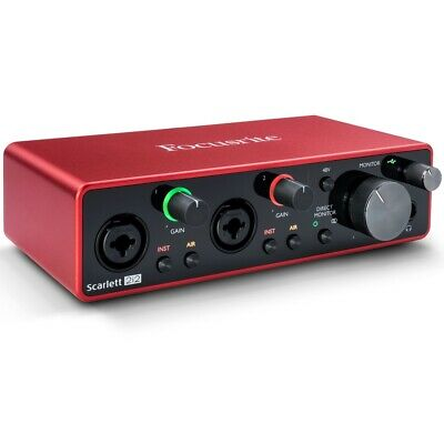 Focusrite Scarlett 2i2 3rd Gen Scheda Interfaccia Audio MIDI USB 2in/2out
