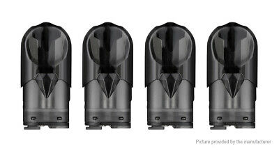 Authentic YOSTA Ypod Mini Replacement Pod Cartridge (4-Pack) Black