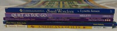 Quilting Books Lot of 6