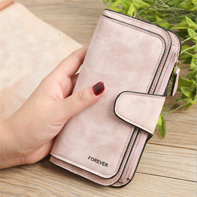 Fashion Women Zipper Purse Lady Clutch Coin Wallet Phone Card Holder Handbag S3