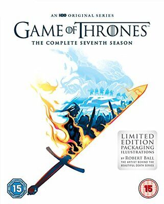 Game of Thrones Season 7 - The Complete Collection Series 7 New UK Region 2 DVD