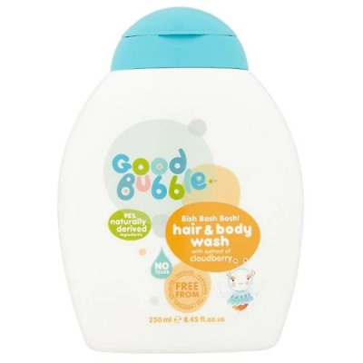 Good Bubble Bish Bash Bosh Hair & Body Wash - Cloudberry 250 ml