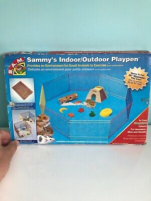 Sammys Wire Play Pen Suitable For Hamsters / Small Animals Indoor Outdoor