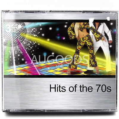 Hits Of the 70's - 3 Disc Set - RARE CD - BRAND NEW SEALED - MUSIC ALBUM