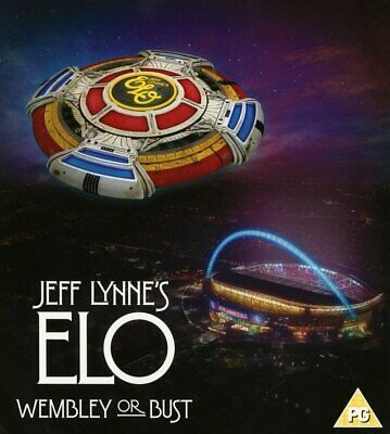 Jeff Lynne's Elo – Wembley Or Bust (Deluxe) [Cd+Bluray] New & Sealed