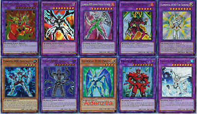 Yugioh Jaden Yuki Elemental Hero Deck - Shining Phoenix Enforcer Escuridao