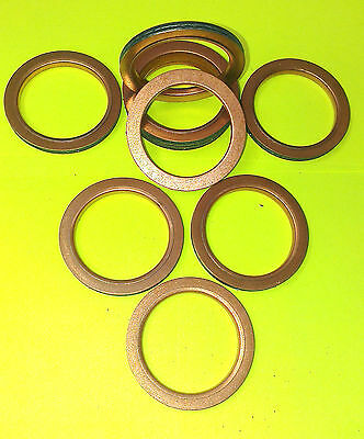 YAMAHA YFM 660 Raptor & Grizzly COPPER EXHAUST GASKET RING SEAL MANIFOLD fF42