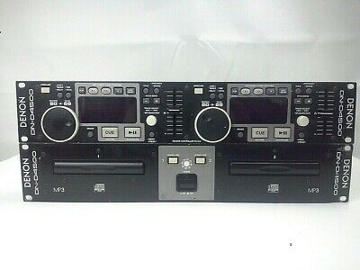 Denon Dn-D4500 Dual Cd Player/Control Unit