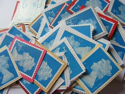 100 2nd class stamps unfranked (lot 2906)