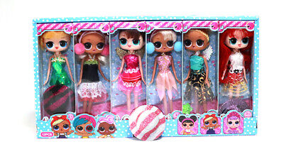Kids Surprise Doll Xmas Gift Fruity Aroma Barbie Girl Playset Toy Playmate Toy