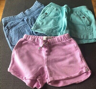 Girls 3 Pairs of Shorts Age 8 Mini Boden Boden and Gap