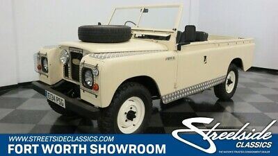 1967 Land Rover Series IIA -- Iconic Classic SUV! Runs/Drives Great! 2.25 4-Cyl Diesel, 4 Spd Manual, 4X4, Wow