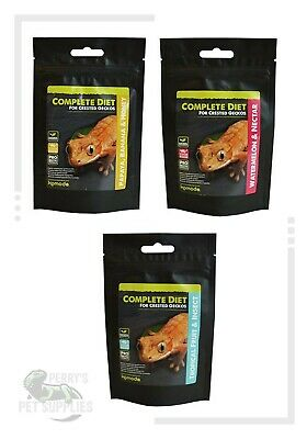 Komodo Crested Gecko Complete Diet - Tropical Fruit, Papaya, Watermelon 60g