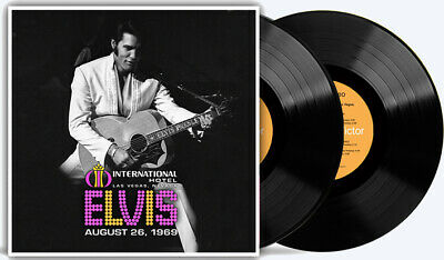ELVIS PRESLEY - Elvis Live At The International Hotel August 26, 1969 2LP