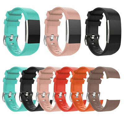 KF_ Replacement Silicone Bracelet Band Strap Wristband for Fitbit Charge 2 Rel