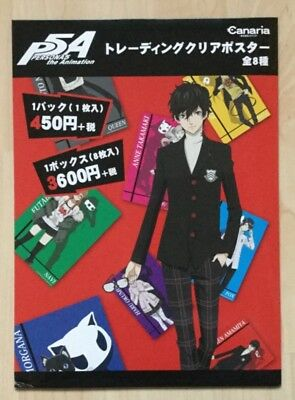 Persona 5 The Animation, Anime/Manga, Trading Clear Poster, 8 Poster