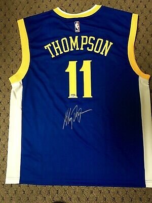 newest 9f1e9 7f288 KLAY THOMPSON AUTOGRAPHED GS Warriors All-StarXL Jersey ...