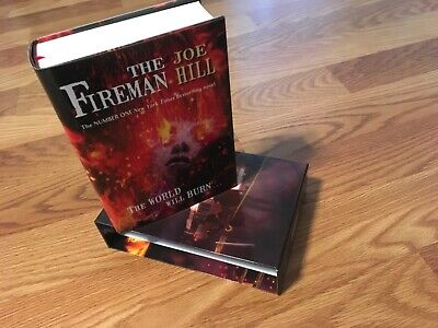 The Fireman signed by the author of NOS4A2 Joe Hill, PS Publishing