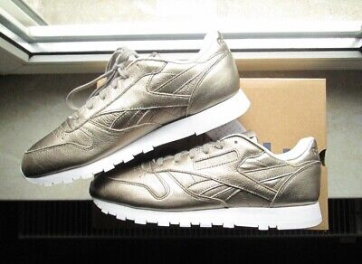 DAMEN SCHUHE REEBOK CLASSIC LEATHER NEW METAL V68760