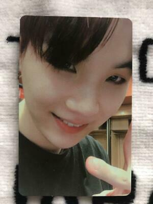 BTS SUGA Love Yourself World Tour NEW YORK NY DVD Official Photo Card LYS