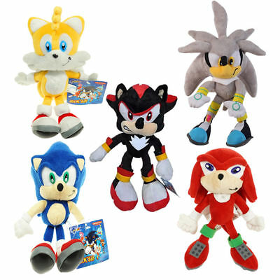 Tv Movie Character Toys Sonic The Hedgehog Shadow Blue Sonic Tails Plush Toy Stuffed Figure Doll Gift Tv Movie Character Toys Toys Hobbies