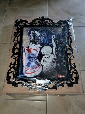 Pabst Blue Ribbon PBR Art LED Motion Sign 'Cleanliness is Godliness' 2012